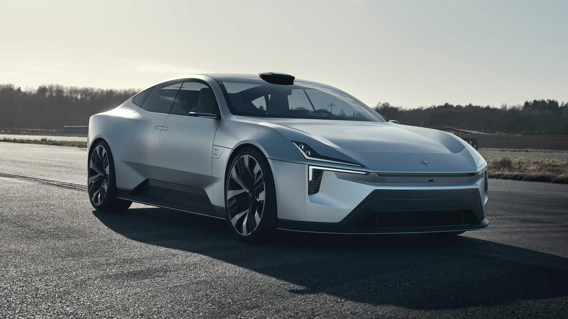 A Tesla-t utánozza az új Polestar Precept?